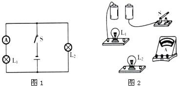 并联电路实物连接_初中物理知识之电流与电路的习题分析